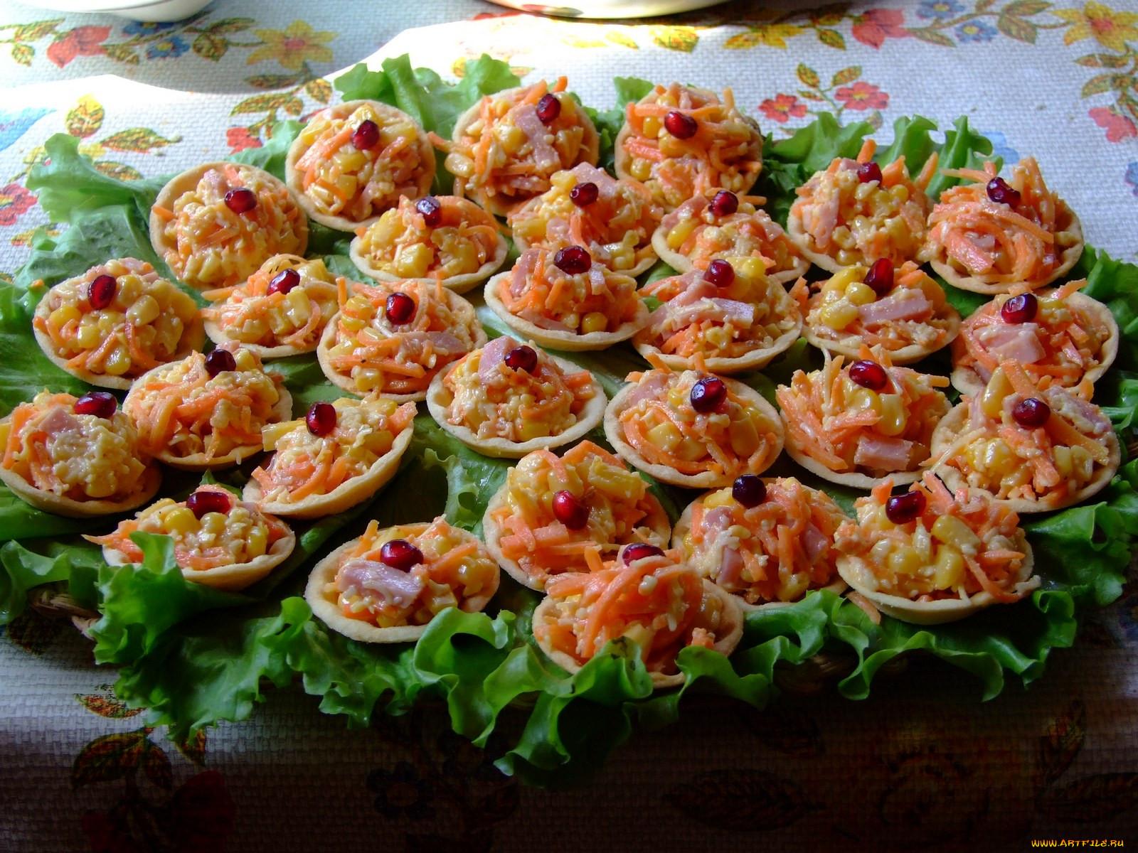 Тарталетки для салата рецепт